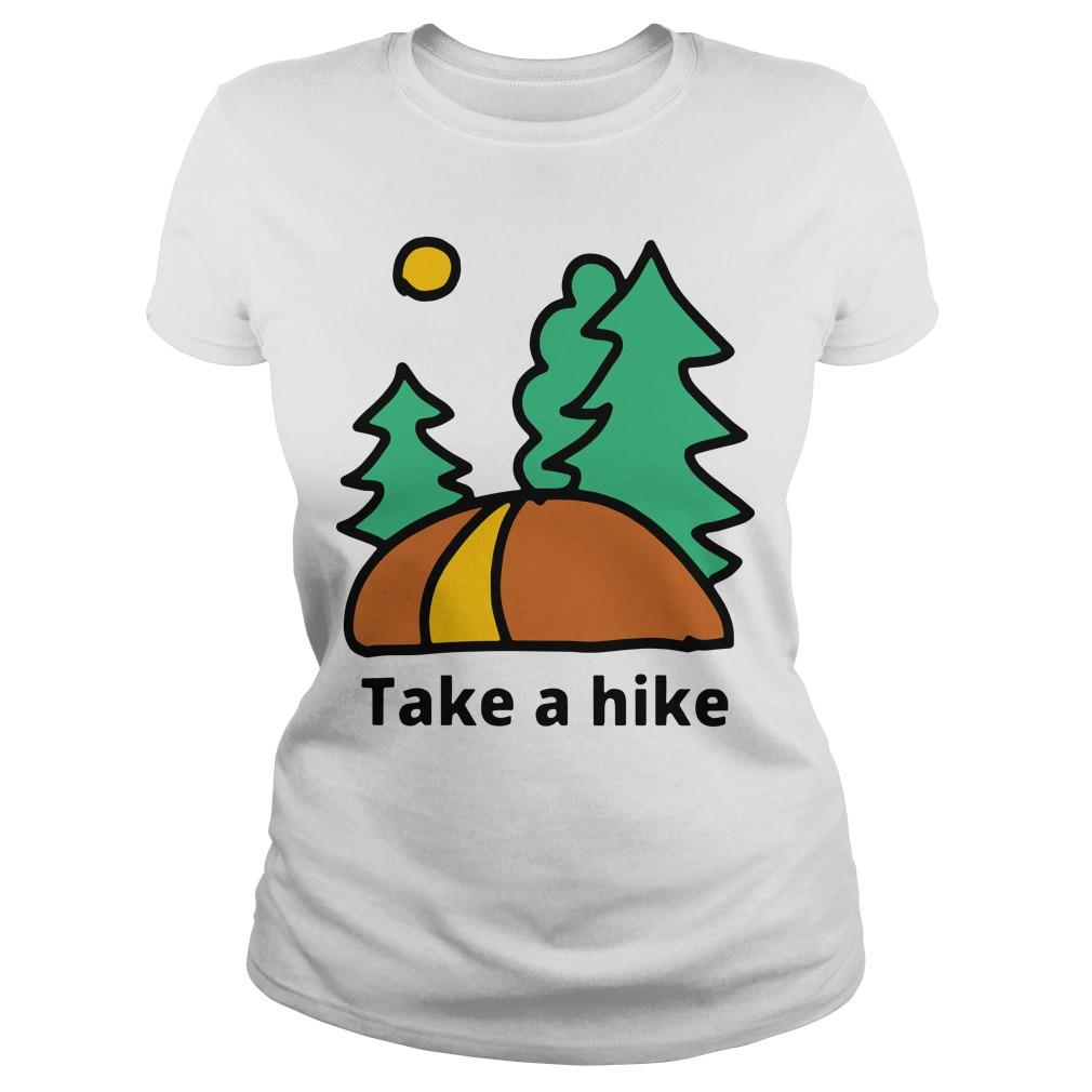 Camping Lover Take A Hike Longsleeve