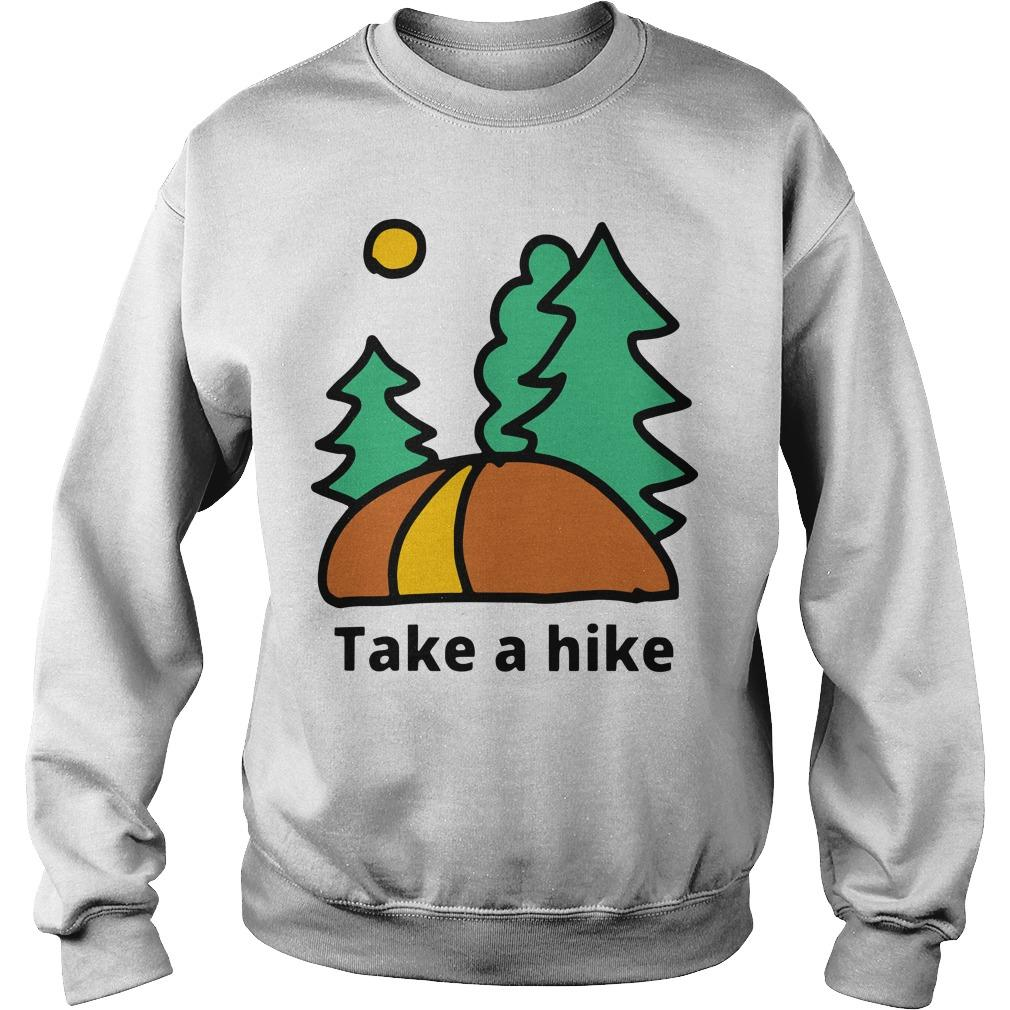 Camping Lover Take A Hike Sweater