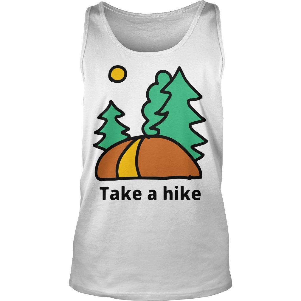 Camping Lover Take A Hike Tank Top