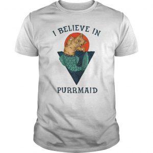 Cat I Believe In Purrmaid Shirt
