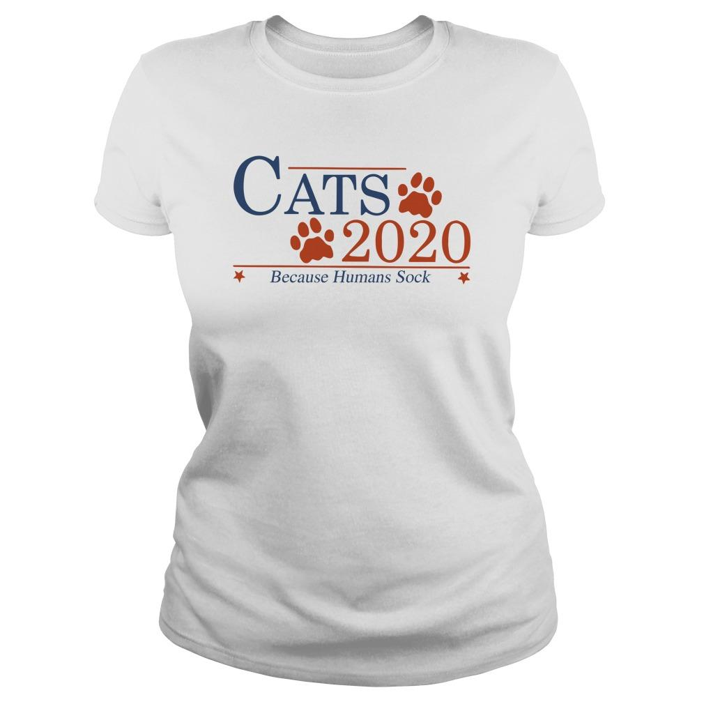 Cats 2020 Because Humans Suck Longsleeve