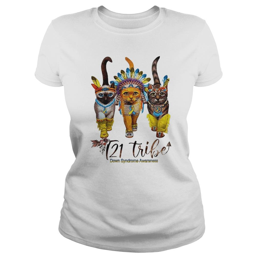 Cats T21 Tribe Down Syndrome Awareness Longsleeve