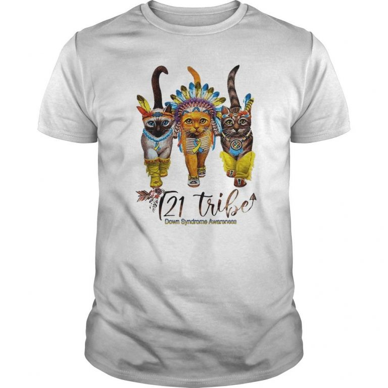Cats T21 Tribe Down Syndrome Awareness Shirt