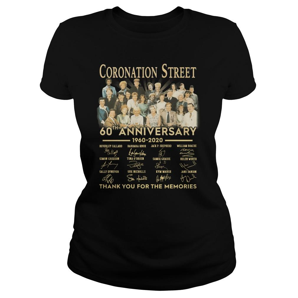 Coronation Street 60th Anniversary Thank You For The Memories Longsleeve