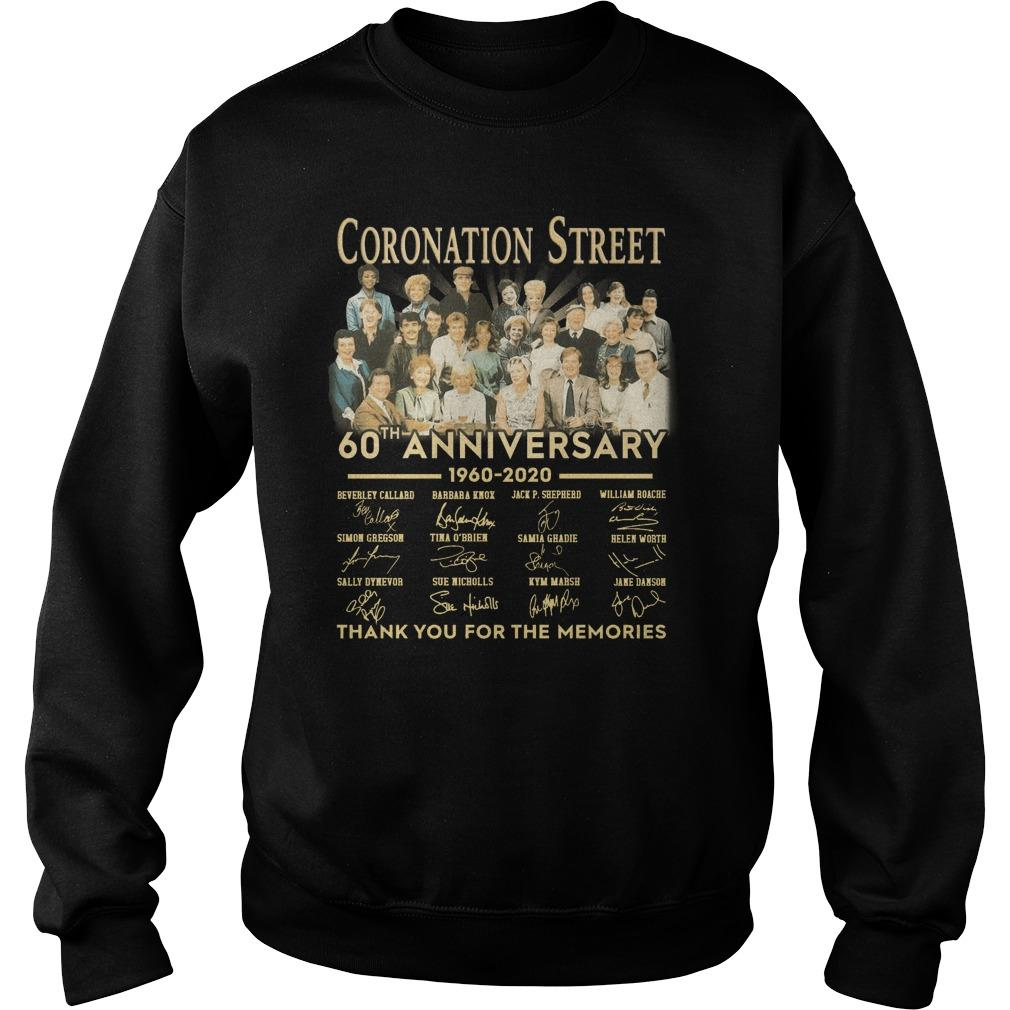 Coronation Street 60th Anniversary Thank You For The Memories Sweater