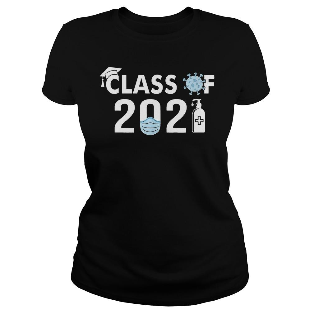 Covid 19 Class Of 2021 Longsleeve