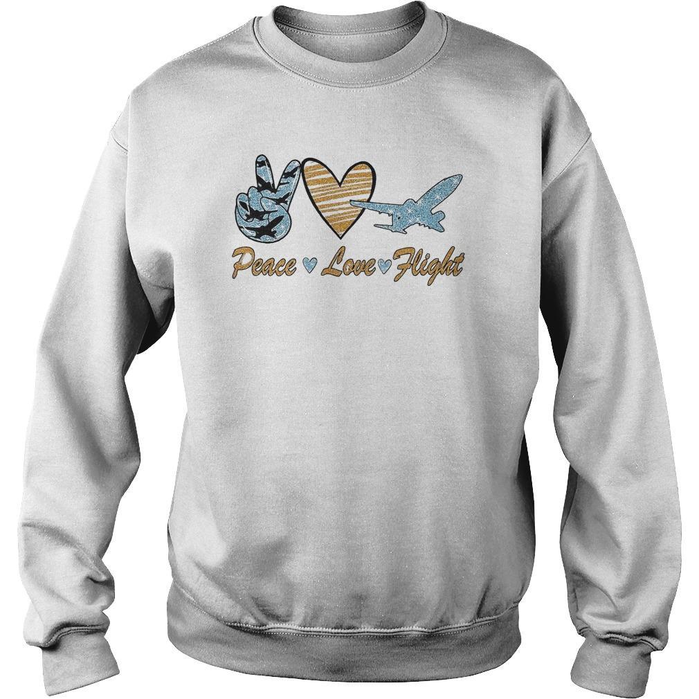Diamond Peace Love Flight Sweater