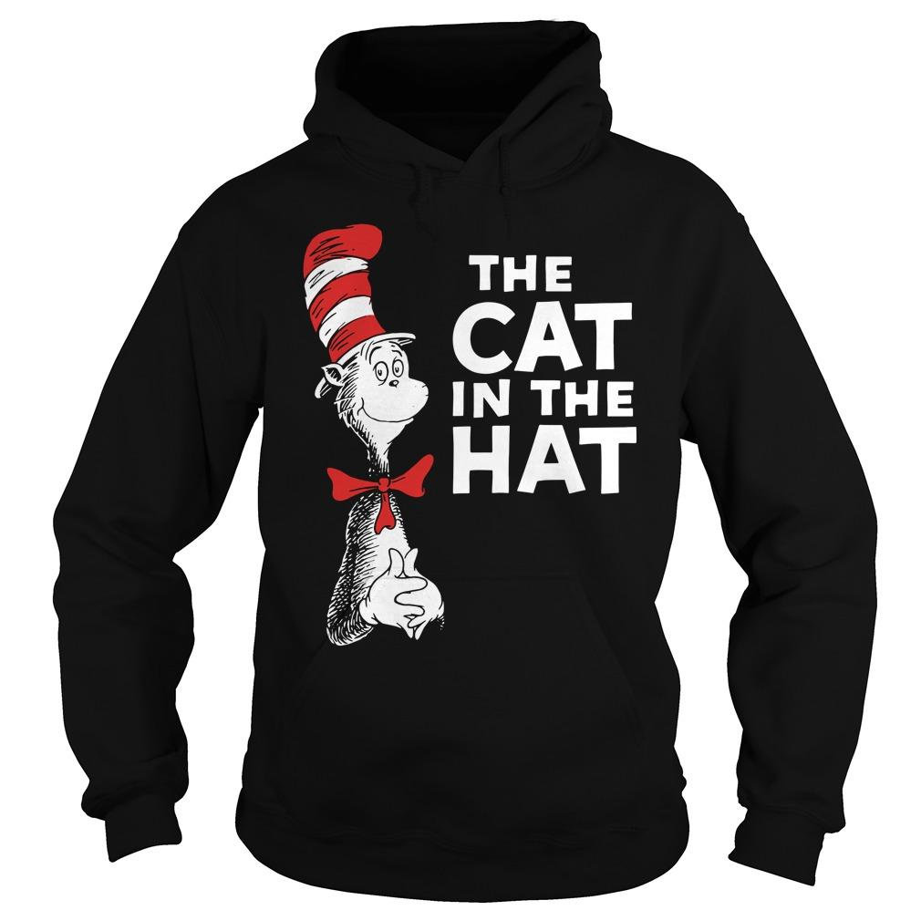 Dr Seuss The Cat In The Hat Hoodie