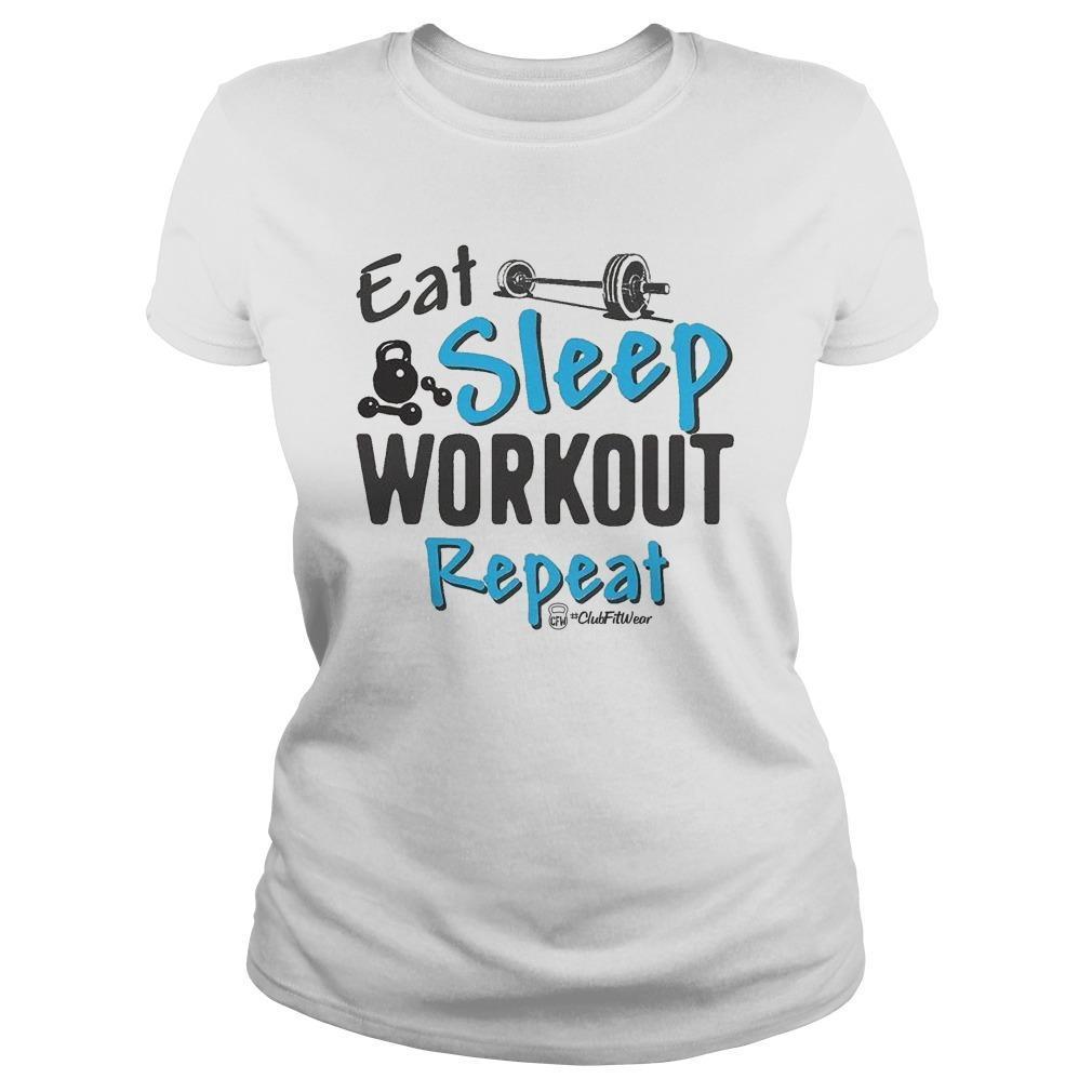 Eat Sleep Workout Repeat Longsleeve