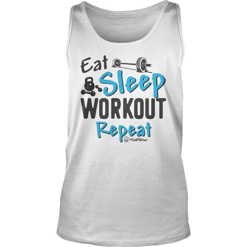 Eat Sleep Workout Repeat Tank Top