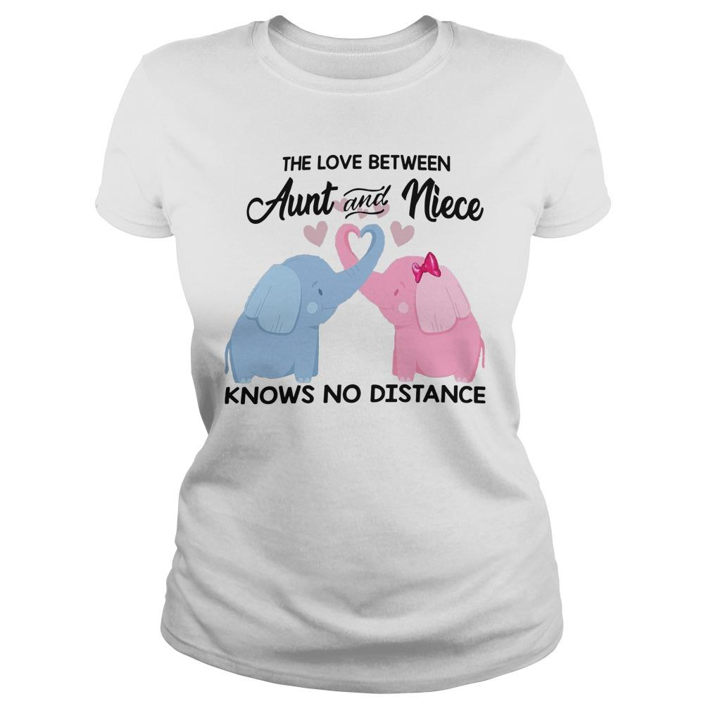 Elephant The Love Between Aunt And Niece Knows No Distance Longsleeve