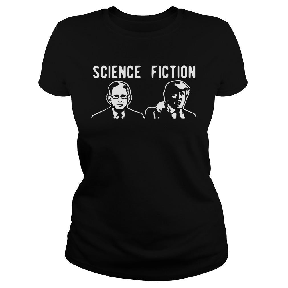 Fauci Vs Trump Science Fiction Longsleeve
