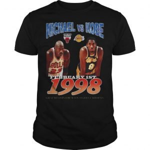 February 1st 1998 Michael Vs Kobe Shirt
