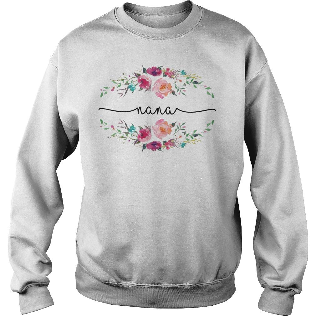 Flower Nana Sweater