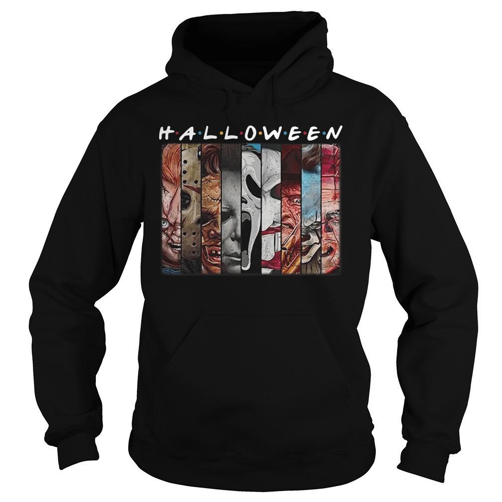 Friends Tv Show Horror Characters Halloween Hoodie
