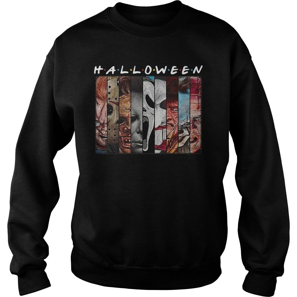 Friends Tv Show Horror Characters Halloween Sweater