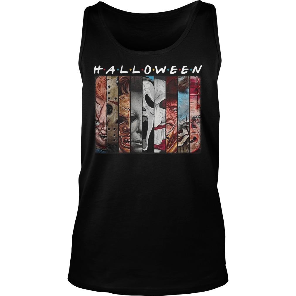Friends Tv Show Horror Characters Halloween Tank Top