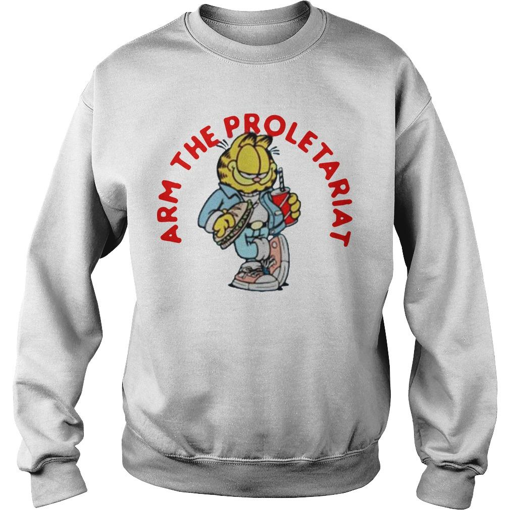 Garfield Arm The Proletariat Sweater