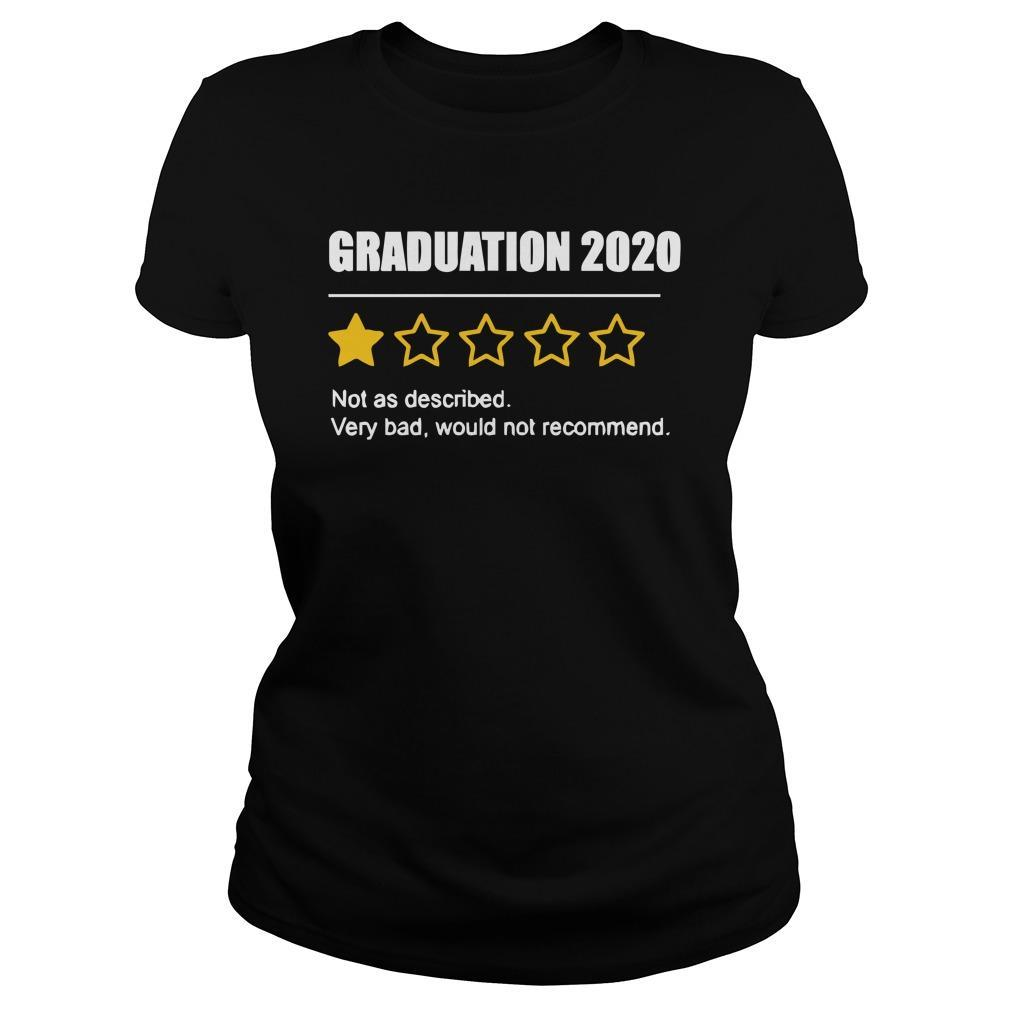 Graduation 2020 Not As Described Very Bad Would Not Recommend Longsleeve