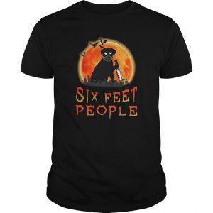 Halloween Dog Six Feet People Shirt