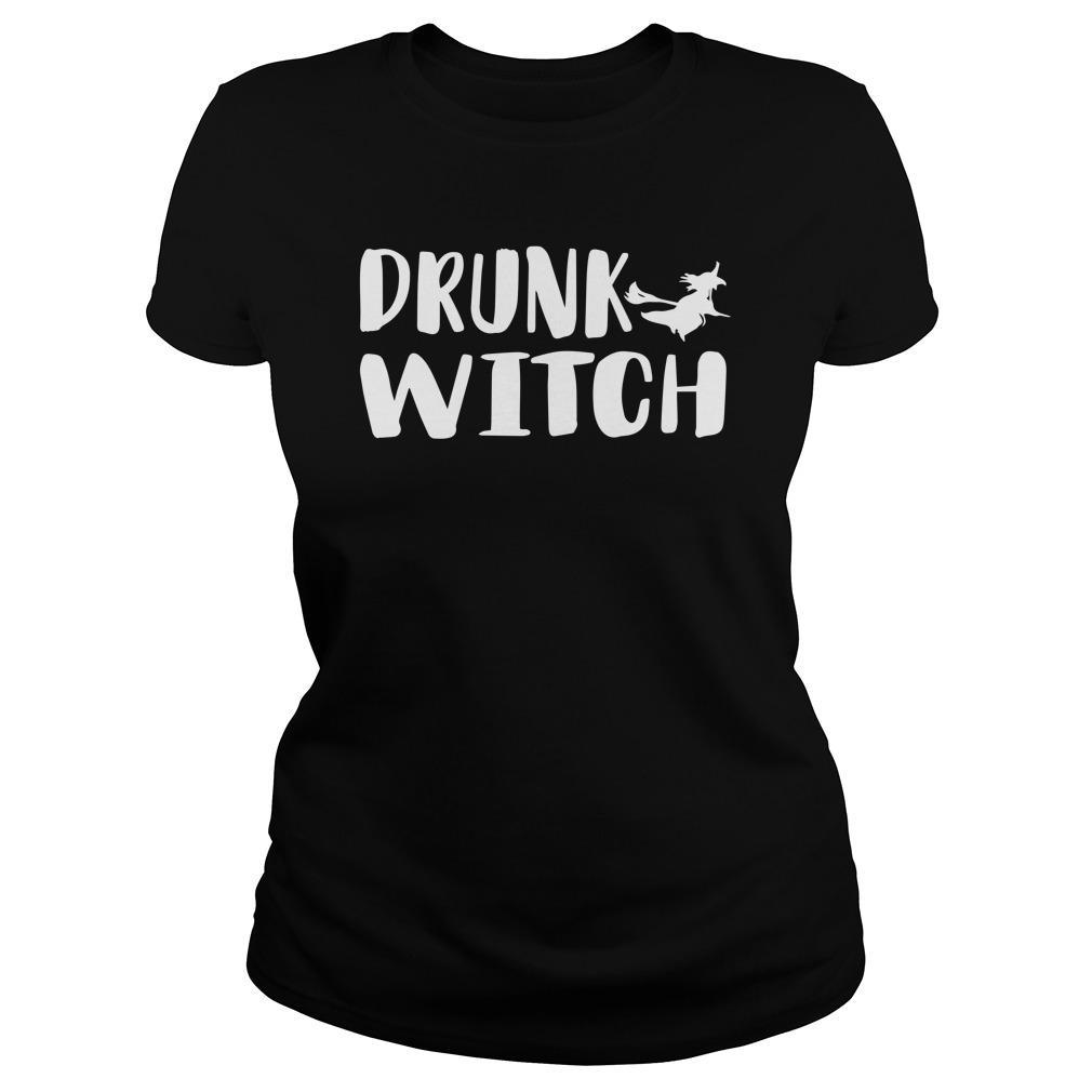 Halloween Drunk Witch Longsleeve