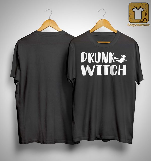 Halloween Drunk Witch Shirt