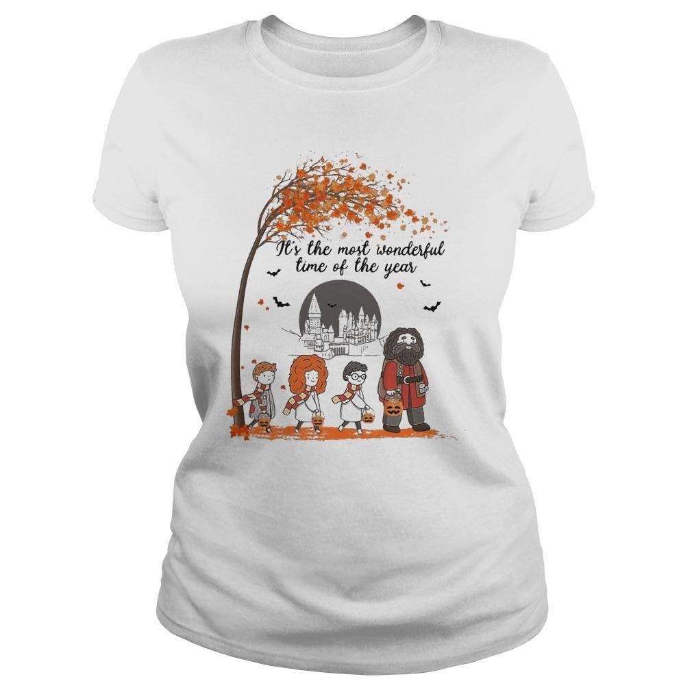 Halloween Harry Potter It's The Most Wonderful Time Of The Year Longsleeve