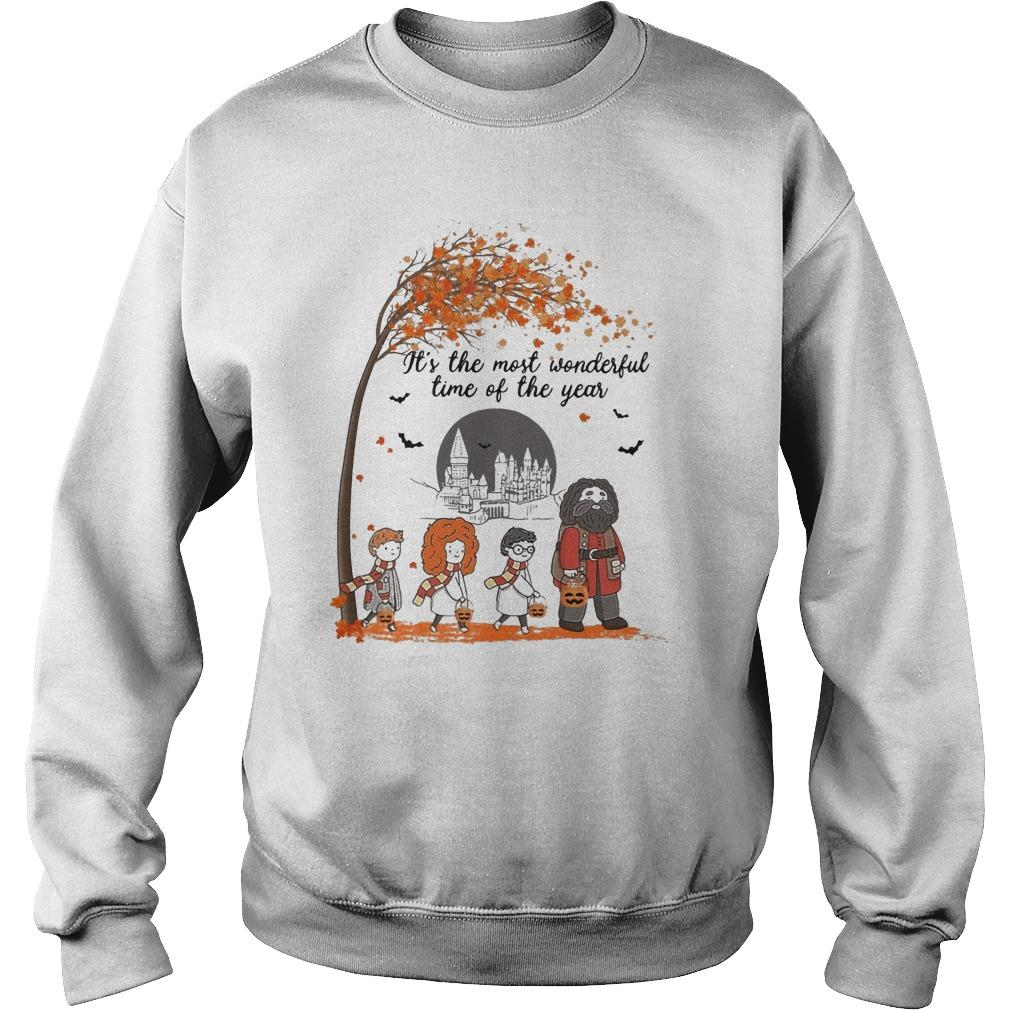 Halloween Harry Potter It's The Most Wonderful Time Of The Year Sweater