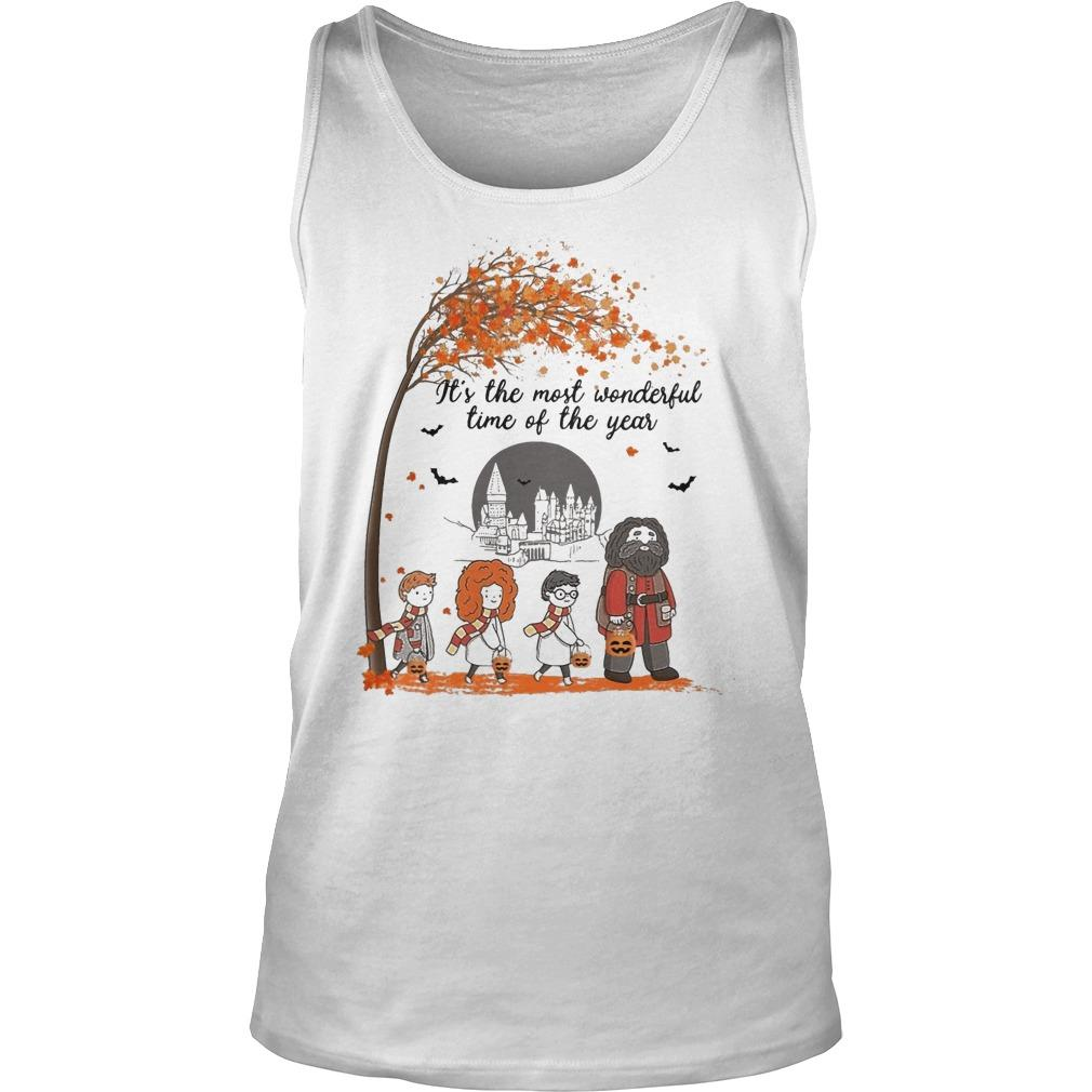 Halloween Harry Potter It's The Most Wonderful Time Of The Year Tank Top