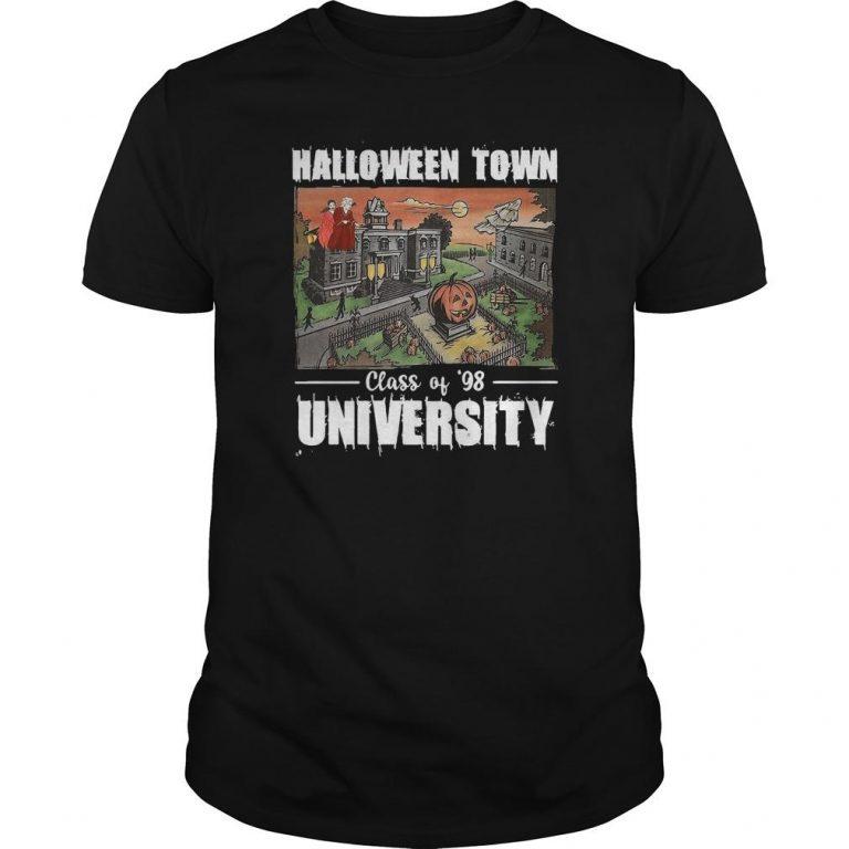 Halloween Town Class Of 98 University Shirt