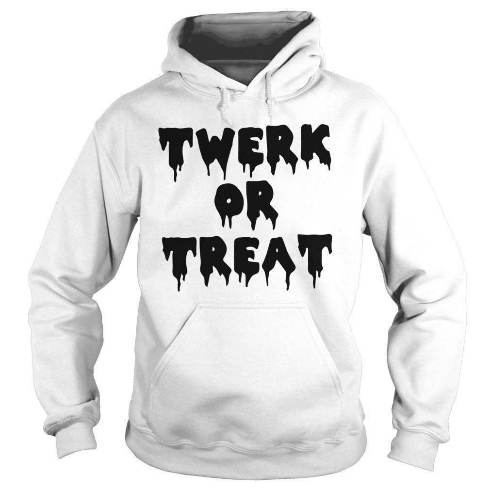 Halloween Twerk Or Treat Hoodie
