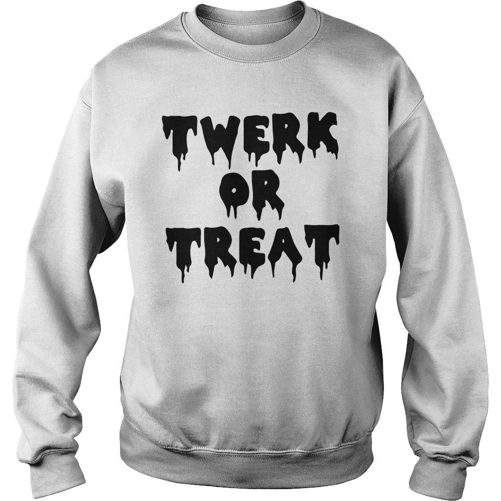 Halloween Twerk Or Treat Sweater
