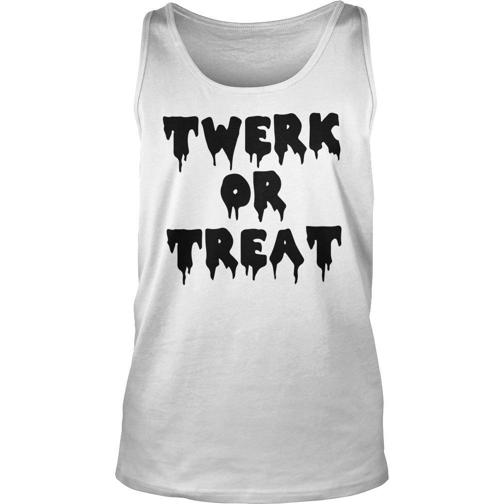 Halloween Twerk Or Treat Tank Top