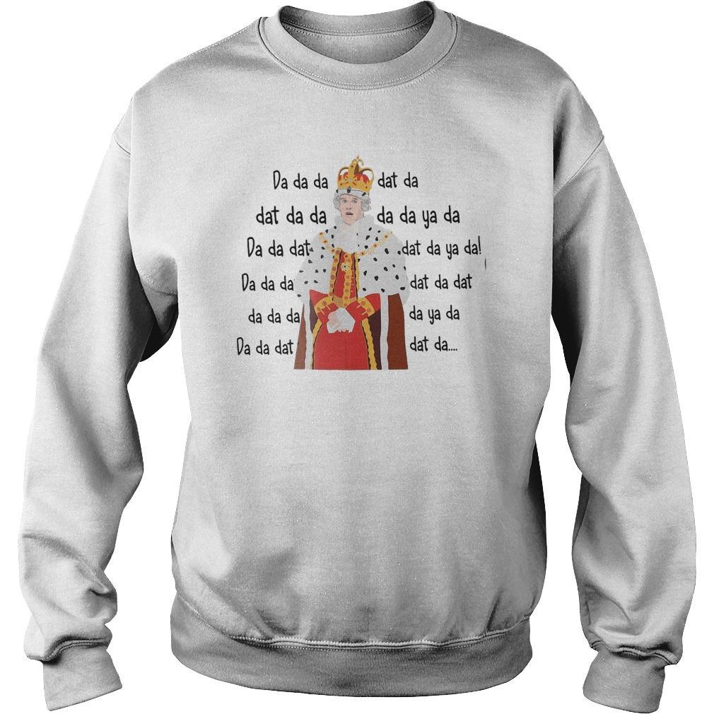 Hamilton King George Chorus Da Da Da Dat Da Sweater