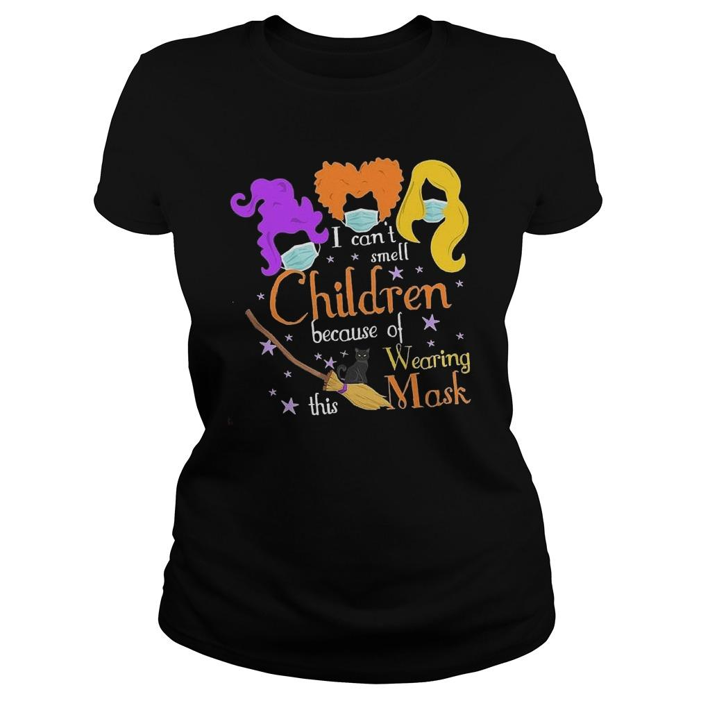 Hocus Pocus I Can't Smell Children Because Of Wearing This Mask Longsleeve