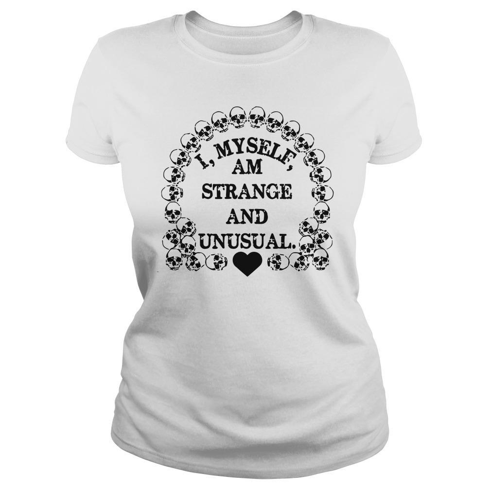 I Myself Am Strange And Unusual Longsleeve