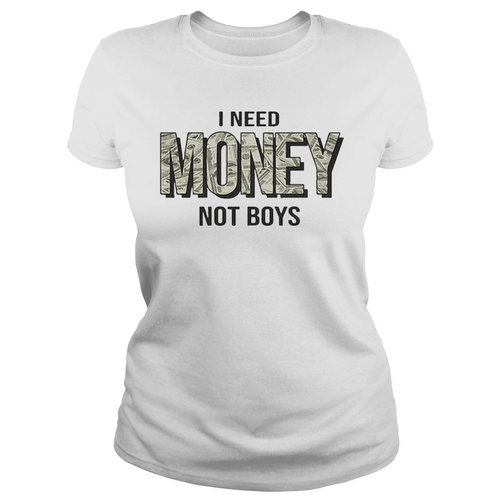 I Need Money Not Boys Longsleeve