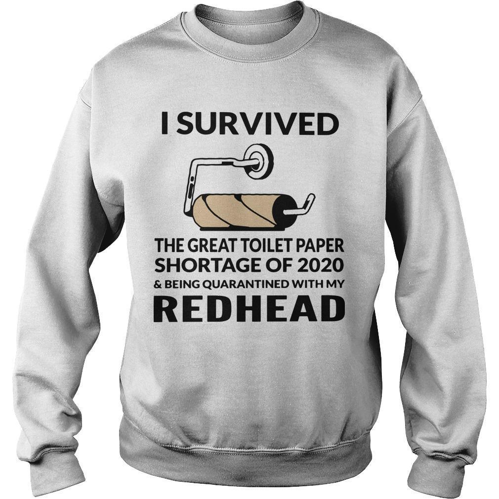 I Survived The Great Toilet Paper Shortage Of 2020 With My Redhead Sweater