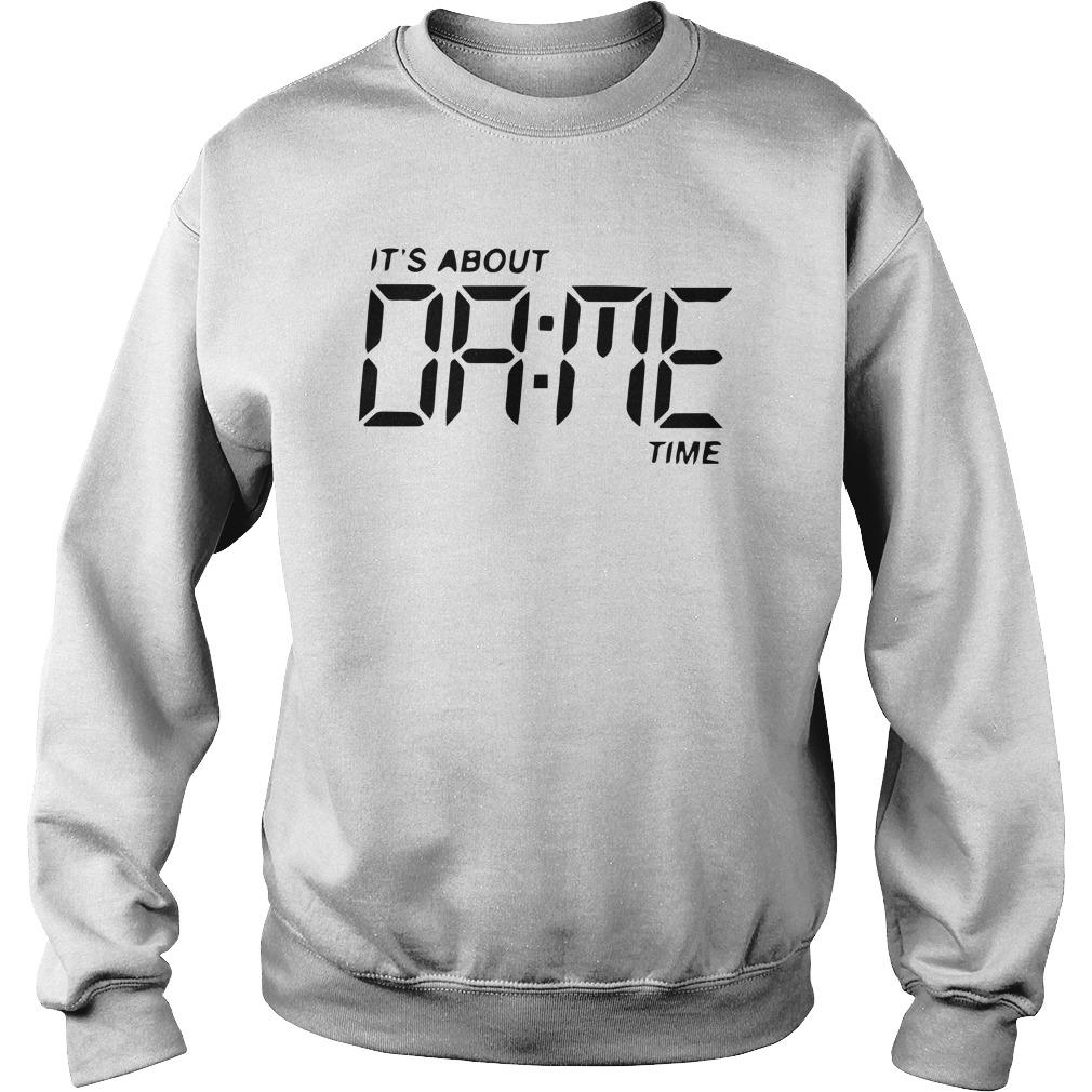 It's About Dame Time Sweater