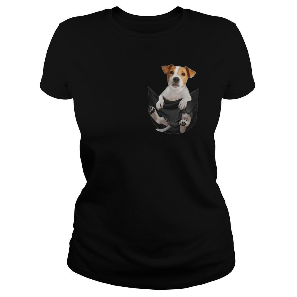 Jack Russell Terrier In Pocket Longsleeve