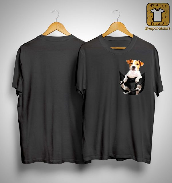 Jack Russell Terrier In Pocket Shirt