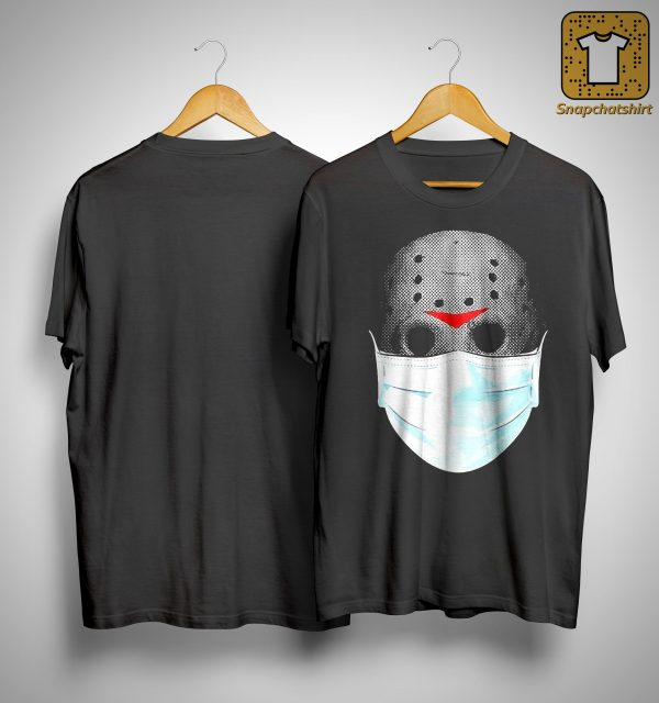 Jason Voorhees Face Mask Halloween Shirt