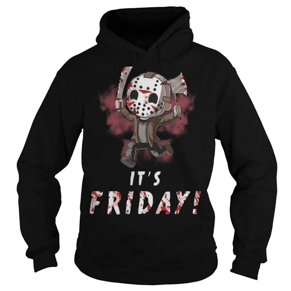 Jason Voorhees It's Friday Hoodie