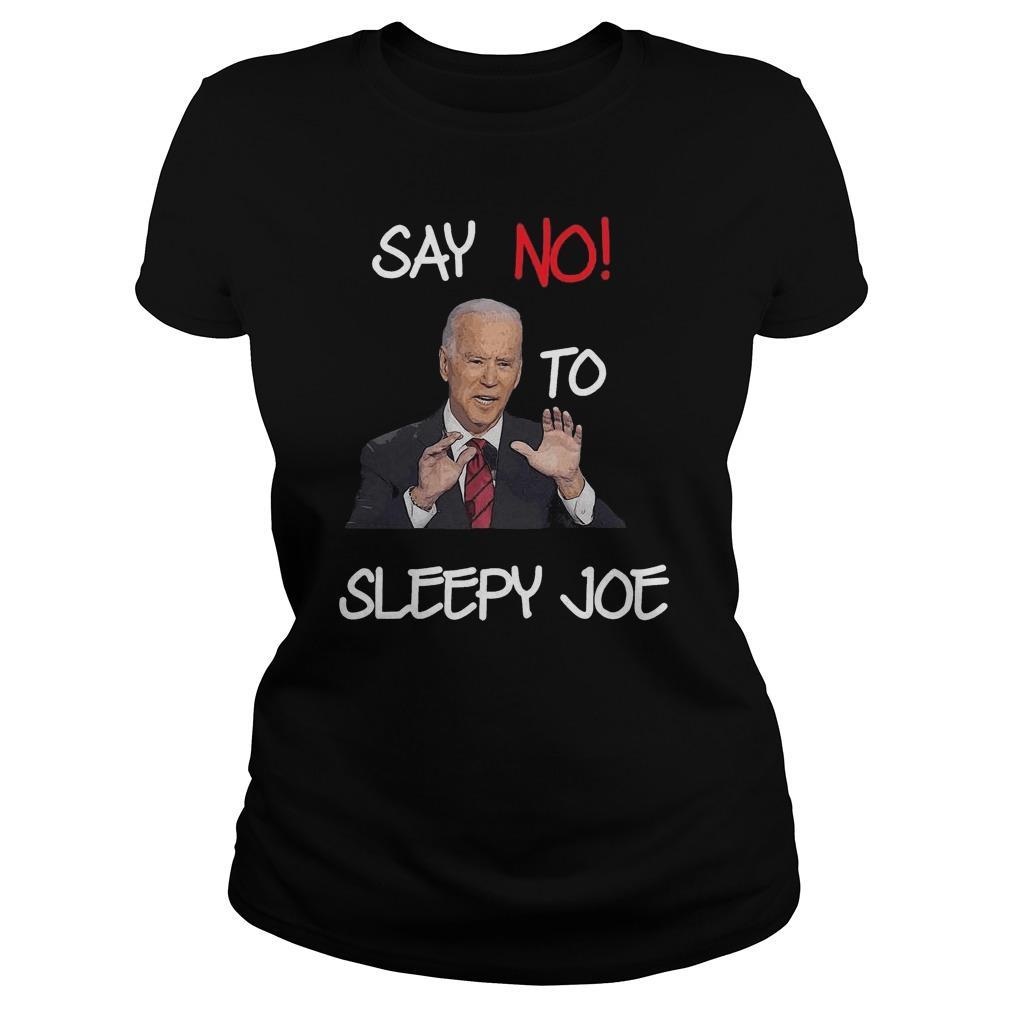 Joe Biden Say No To Sleepy Joe Tank Top
