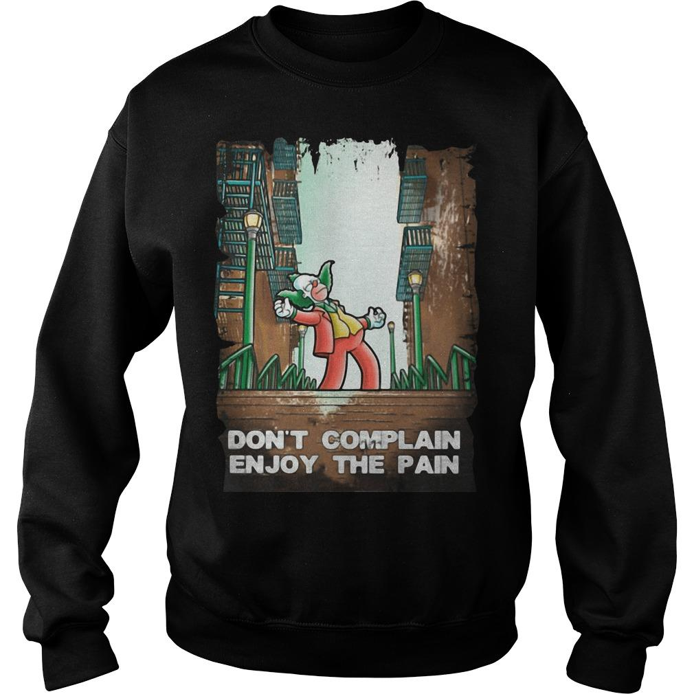 Joker And Simpson Don't Complain Enjoy The Pain Sweater