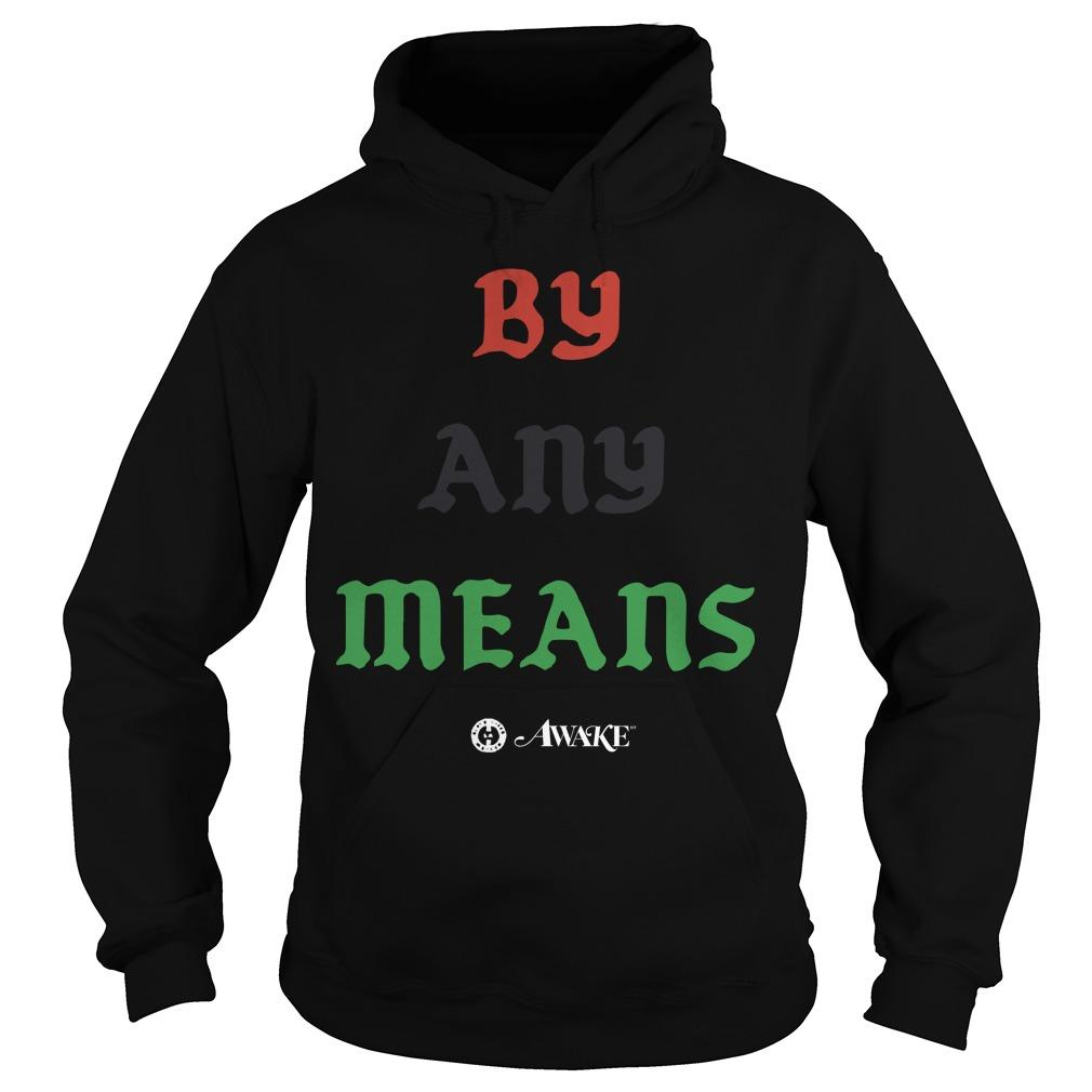 Lebron James By Any Means T Hoodie