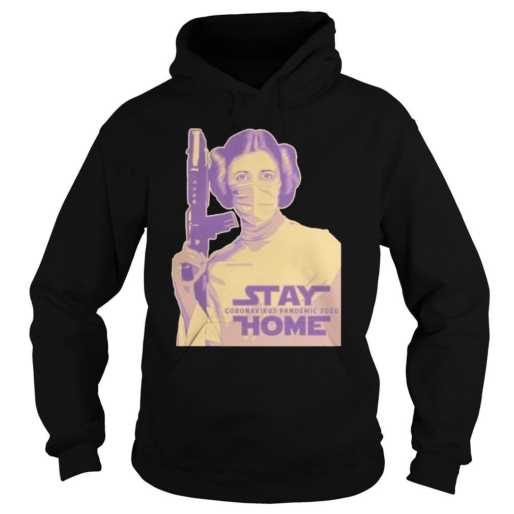Leia Organa Face Mask Stay Coronavirus Pandemic 2020 Home Hoodie