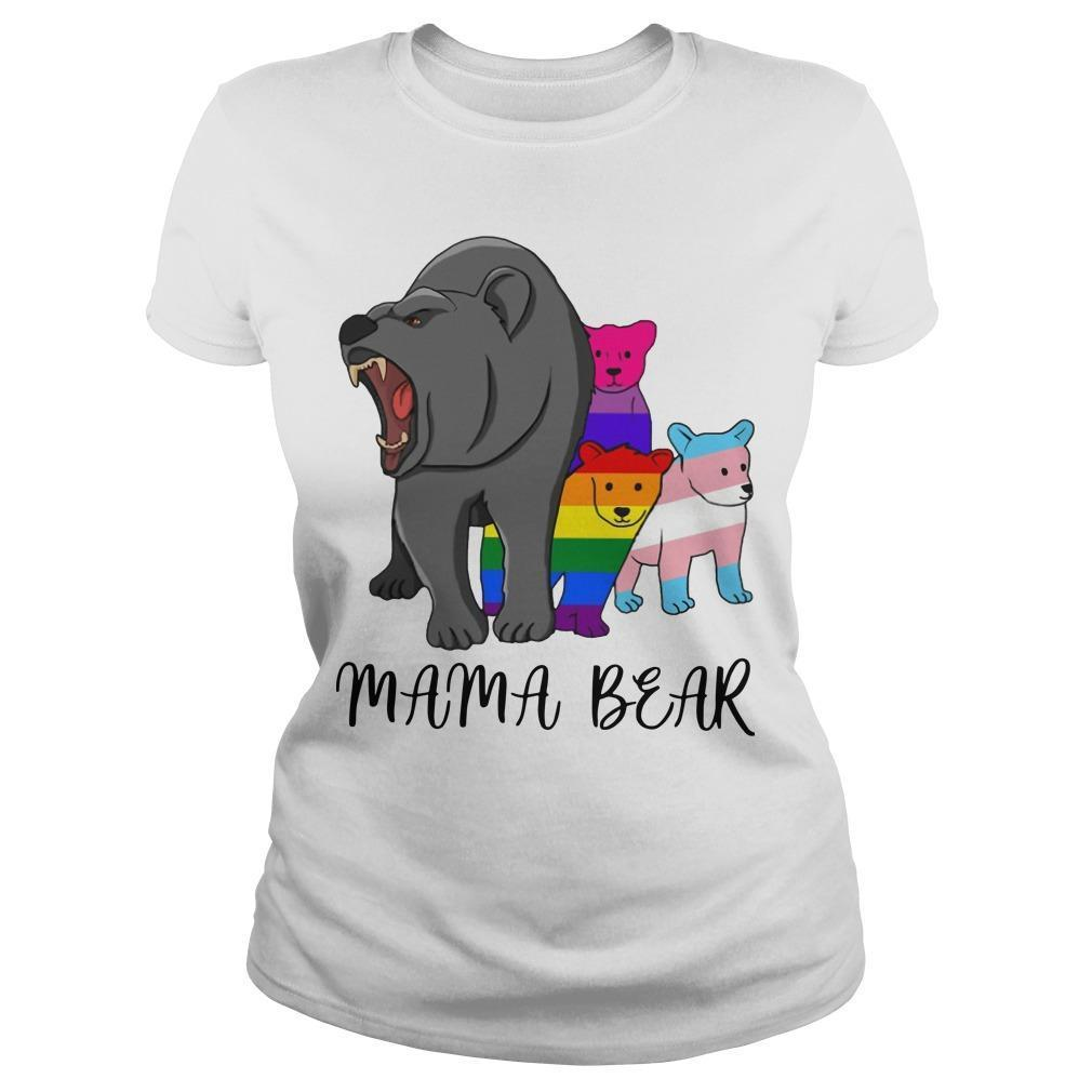 Lgbt Angry Mama Bear Longsleeve
