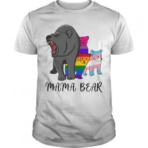 Lgbt Angry Mama Bear Shirt