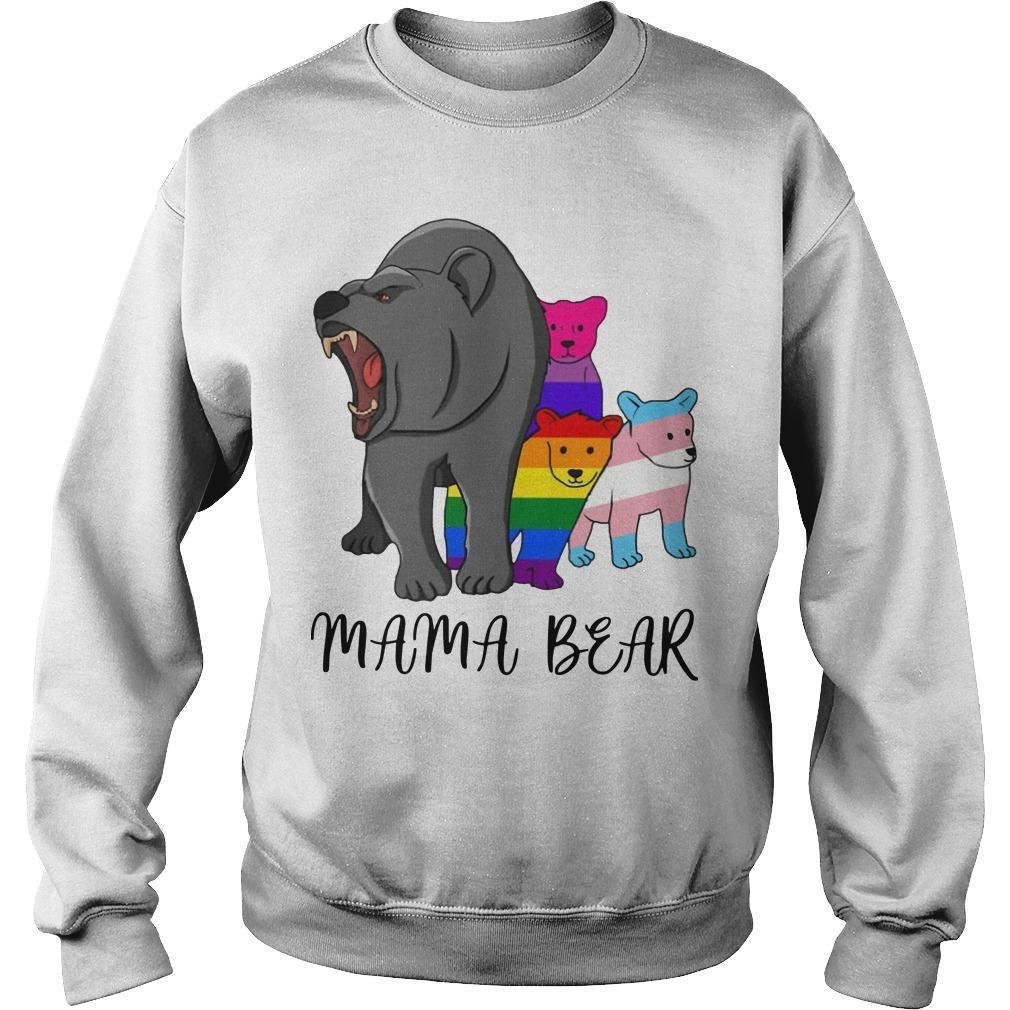 Lgbt Angry Mama Bear Sweater